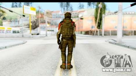 Homefront The Revolution - KPA v1 Captain pour GTA San Andreas troisième écran