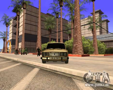 VAZ 2106 Armenian für GTA San Andreas Seitenansicht