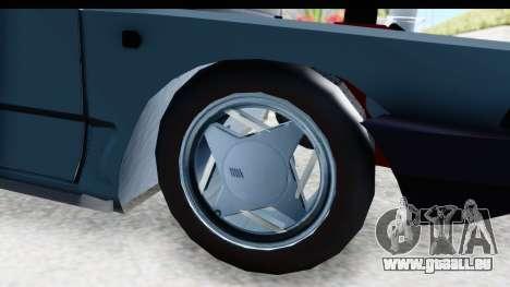 Fiat 147 pour GTA San Andreas vue arrière