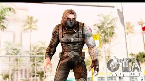 Marvel Future Fight - Winter Soldier pour GTA San Andreas