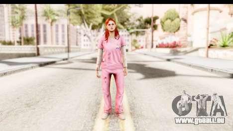 Silent Hill Shattered Memories - Lisa Garland für GTA San Andreas zweiten Screenshot