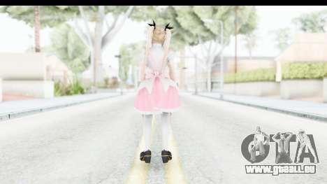 DoA 5: LR - Marie Rose Maid Remade pour GTA San Andreas troisième écran