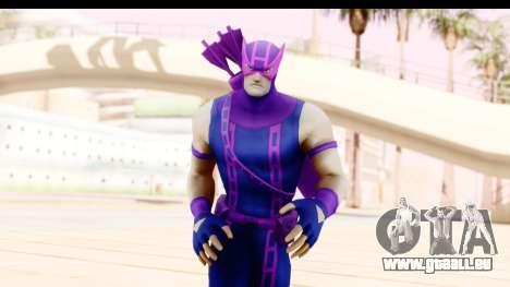 Marvel Heroes - Hawkeye pour GTA San Andreas