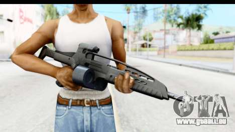 H&K XM8 Drum Mag pour GTA San Andreas troisième écran