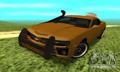 Chevrolet Camaro 2010 pour GTA San Andreas