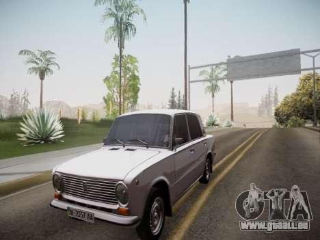 VAZ 21013 für GTA San Andreas Rückansicht