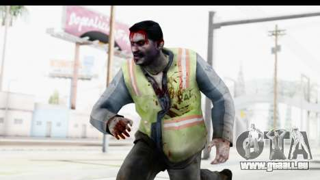 Left 4 Dead 2 - Zombie Baggage Handler pour GTA San Andreas