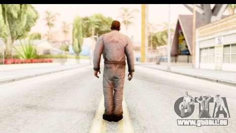 Left 4 Dead 2 - Zombie Worker pour GTA San Andreas troisième écran