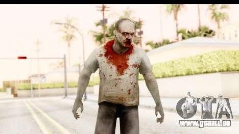 Left 4 Dead 2 - Zombie T-Shirt pour GTA San Andreas