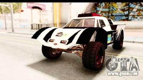 GTA 5 Desert Raid SA Lights PJ pour GTA San Andreas vue de côté