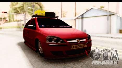 Opel Corsa für GTA San Andreas rechten Ansicht