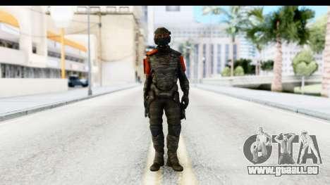 Homefront The Revolution - KPA v3 Camo pour GTA San Andreas deuxième écran
