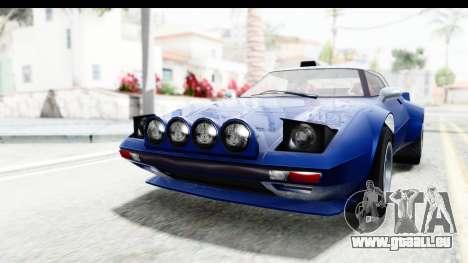 GTA 5 Lampadati Tropos Rallye No Headlights IVF pour GTA San Andreas vue de droite
