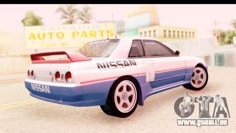 Nissan Skyline Group A für GTA San Andreas linke Ansicht