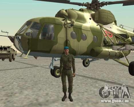 Pak-Kämpfer airborne für GTA San Andreas sechsten Screenshot
