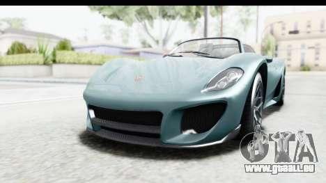 GTA 5 Pfister 811 pour GTA San Andreas
