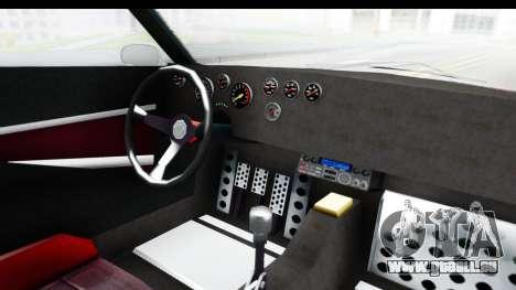 GTA 5 Lampadati Tropos Rallye No Headlights pour GTA San Andreas vue intérieure
