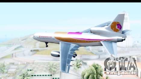Lockheed L-1011-100 TriStar Hawaiian Airlines für GTA San Andreas rechten Ansicht