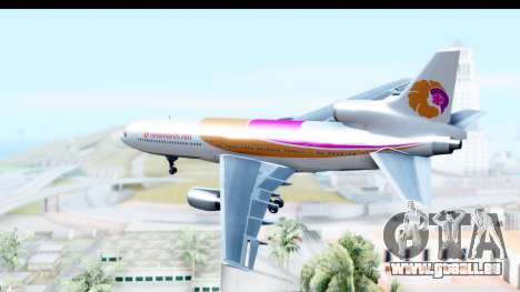Lockheed L-1011-100 TriStar Hawaiian Airlines pour GTA San Andreas vue de droite