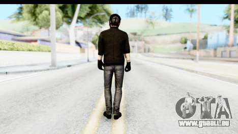 Payday 2 - Bodhi with Mask pour GTA San Andreas troisième écran