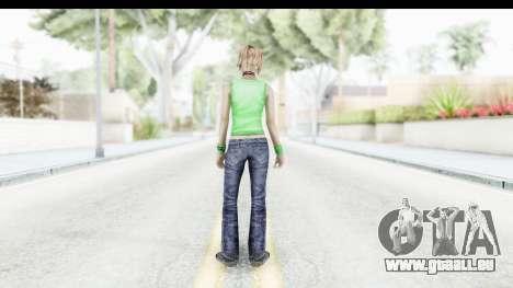 Silent Hill 3 - Heather Sporty Green Evolution für GTA San Andreas dritten Screenshot