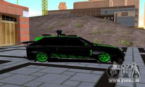 VAZ 2114 DTM für GTA San Andreas linke Ansicht