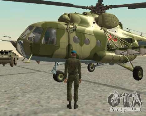 Pak-Kämpfer airborne für GTA San Andreas siebten Screenshot