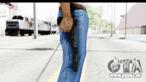 Glock P80 Silenced für GTA San Andreas