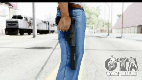 Glock P80 Silenced pour GTA San Andreas