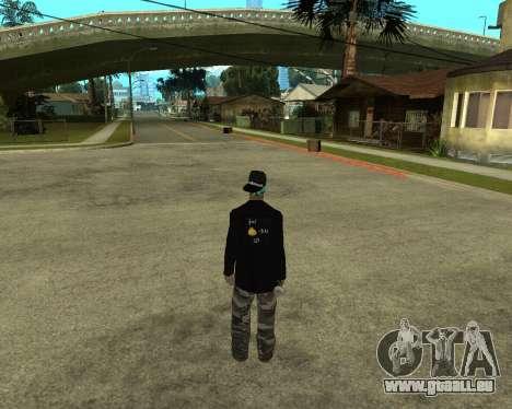 Armenian Skin pour GTA San Andreas deuxième écran
