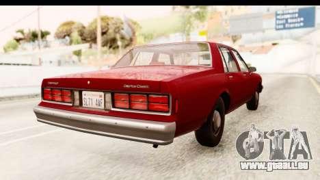 Chevrolet Caprice 1987 für GTA San Andreas linke Ansicht