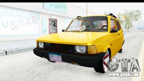 Fiat Spazio Tr Street für GTA San Andreas