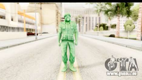 ArmyMen: Serge Heroes 2 - Man v2 pour GTA San Andreas deuxième écran