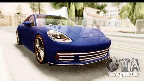 Porsche Panamera 4S 2017 v4 pour GTA San Andreas vue de droite