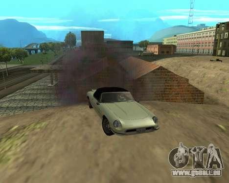 Nouveau garage de l'Arménie pour GTA San Andreas huitième écran