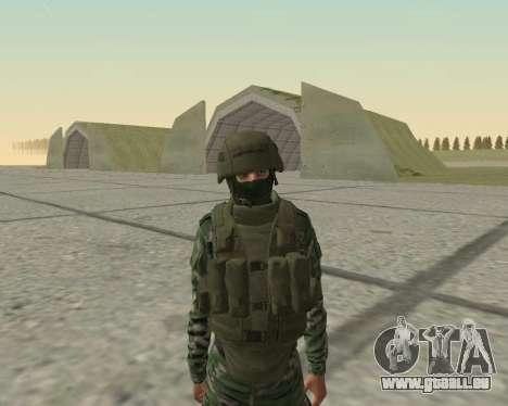 Pak-Kämpfer airborne für GTA San Andreas achten Screenshot