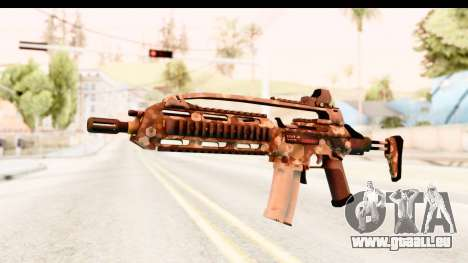 SCAR-LK Hex Camo Tan für GTA San Andreas