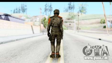 Homefront The Revolution - KPA v4 Camo pour GTA San Andreas troisième écran