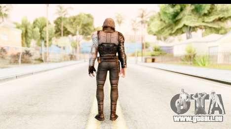 Marvel Future Fight - Winter Soldier pour GTA San Andreas troisième écran