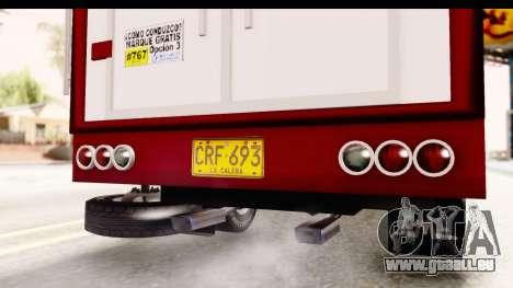 GMC 4100 1950 pour GTA San Andreas vue intérieure