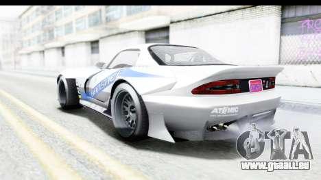 GTA 5 Bravado Banshee 900R Carbon Mip Map IVF pour GTA San Andreas