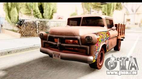 Walton Sticker Bomb pour GTA San Andreas vue de droite