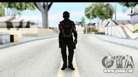 Homefront The Revolution - KPA v1 Captain pour GTA San Andreas deuxième écran