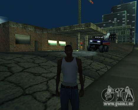 Nouveau garage de l'Arménie pour GTA San Andreas septième écran