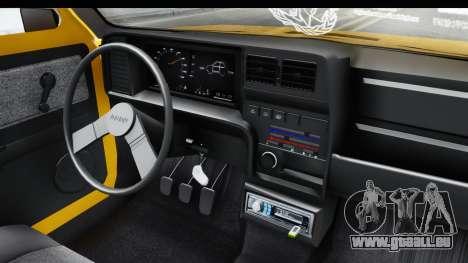 Fiat Spazio Tr Street für GTA San Andreas Innenansicht