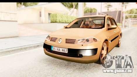 Renault Megane 2 Sedan 2003 pour GTA San Andreas