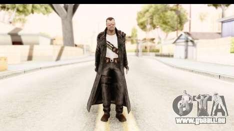 Marvel Heroes - Blade für GTA San Andreas zweiten Screenshot
