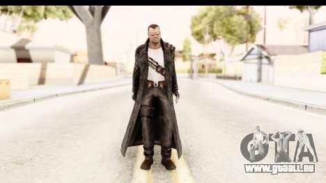 Marvel Heroes - Blade pour GTA San Andreas deuxième écran