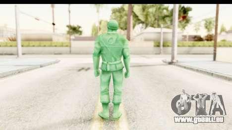 ArmyMen: Serge Heroes 2 - Man v2 für GTA San Andreas dritten Screenshot