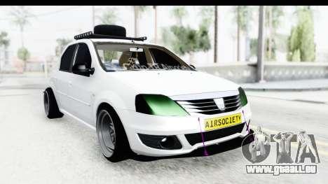 Dacia Logan Coil pour GTA San Andreas